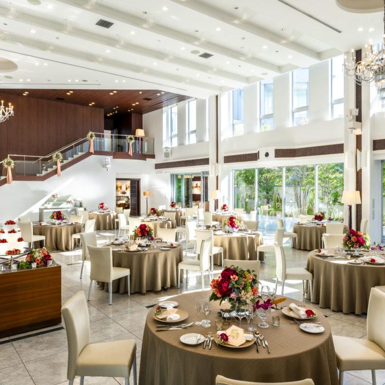 ◆80名様 229万円◆<br />貸切邸宅で叶う挙式&披露パーティプラン