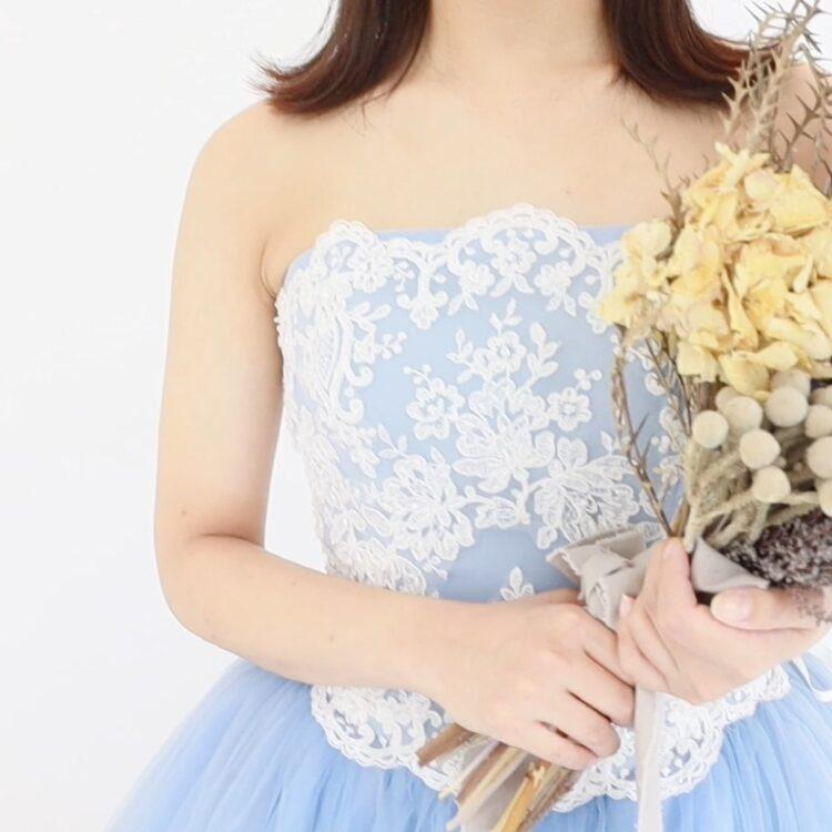 【ドレス紹介】今注目のカラードレスは何色??